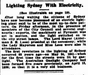 Trove_1904Jul13_ATCJ4_Electric Lighting of Sydney