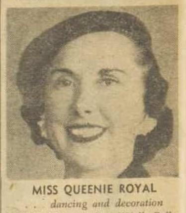 Queen Royal AWW 1947