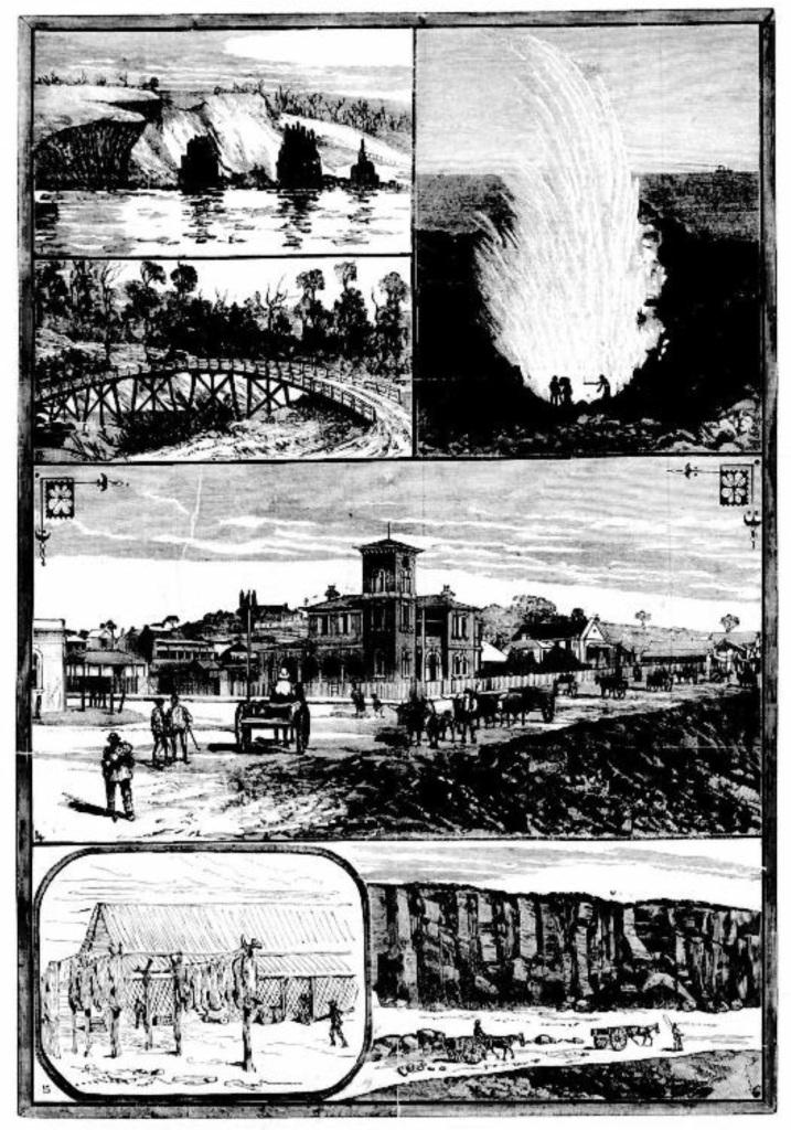 Views in & around Kiama 1882, Australian Town & Country Journal, 25 Nov 1882